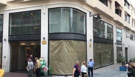 Zara ya es historia en el centro de Algeciras