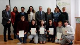 Dos estudiantes algecireños reciben una beca de investigación