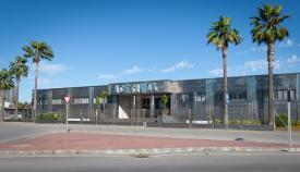 Entrada a las oficinas de Acerinox. Foto: Sergio Rodríguez