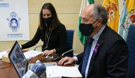 Landaluce preside el acto institucional contra la violencia de género