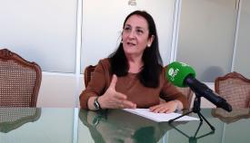 Encarni Sánchez, concejal de Cultura del Ayuntamiento de La Línea