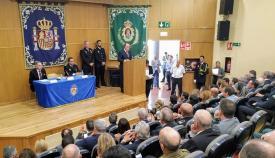 Imagen del acto institucional celebrado en años anteriores