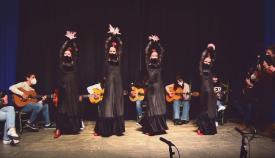 Un momento de la actuación. Foto AA