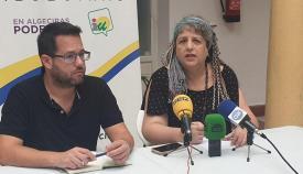 La concejal Leonor Rodríguez, de Adelante Algeciras. Foto: NG