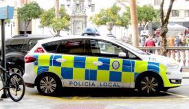 Un vehículo de la Policía Local de Algeciras