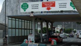 La aduana gibraltareña, en una foto de archivo