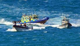Imagen de archivo de una actuación del Servicio de Aduanas de Gibraltar