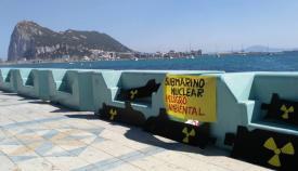 Los ecologistas de Agaden advierten del peligro de los submarinos nucleares en Gibraltar