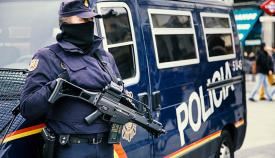Imagen de archivo de un agente de la Policía