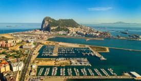 Una vista aérea del Puerto Deportivo 'Alcaidesa Marina'. Foto: Alcaidesa Marina