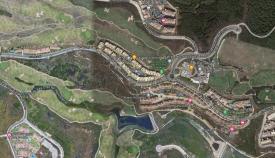 Una vista aérea de la Alcaidesa, en La Línea. Foto: laínea.es