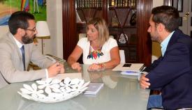 Juan Franco, Irene García y Mario Fernández