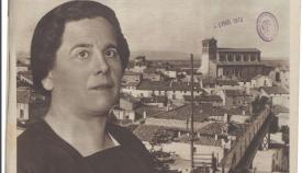 La prensa de la época reconoció la labor de María Domínguez