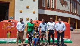 Algeciras recicla 20.830 kilos de envases de vidrio durante la Feria Real 2019