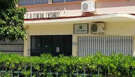 Fachada del CEIP General Castaños de Algeciras