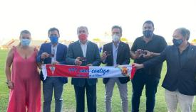 Landaluce invita a los aficionados al ilusionante proyecto del Algeciras CF
