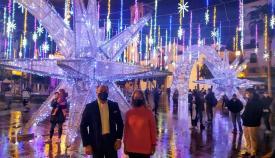 Algeciras enciende el alumbrado especial que lucirá durante Navidad