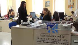 Belén Jiménez, en la sede de Amdel en imagen de archivo