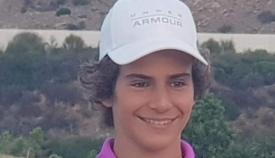 Ángel Ayora es alumno de La Cañada, en San Roque