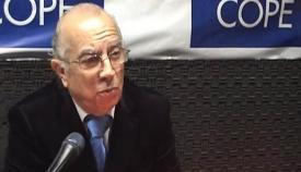Antonio García en una de sus intervenciones radiofónicas