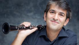 El clarinetista Antonio Salguero