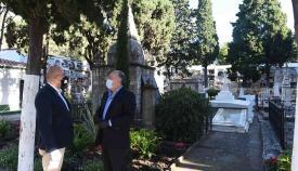 Los cementerios de Algeciras reabren sus puertas con normalidad