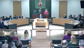Sesión de apertura legislativa del Parlamento de Gibraltar