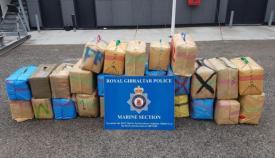 El cannabis incautado por la policía de Gibraltar