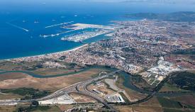 Áreas logísticas del Puerto de Algeciras