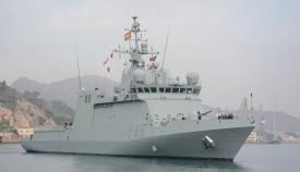 El buque 'Audaz' llevará a Algeciras a quince migrantes del 'Open Arms'