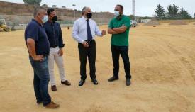 El alcalde, José Ignacio Landaluce, visitando la zona. Foto: algeciras.es
