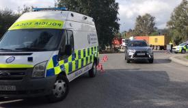 Sancionados 55 vehículos en una campaña de verificación de la Policía en Algeciras