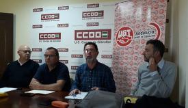 Imagen de la asamblea sindical celebrada en Algeciras