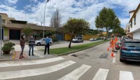 Vías y Obras retoma su campaña de rebacheo en las carreteras de Algeciras