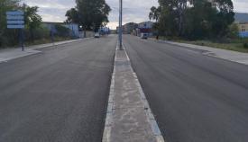 Una imagen de una vía asfaltada en La Línea. Foto: NG