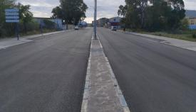Una actuación en un plan de asfaltado anterior. Foto: lalínea.es