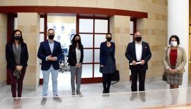 Landaluce recibe a los responsables de la Asociación León de Judá