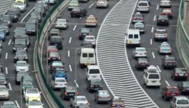 Atasco coches carretera noticias gibraltar