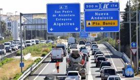 Fin de semana complejo en las carreteras andaluzas. Foto: NG