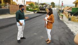 Urbanismo reasfalta 29.000 metros de carretera en Algeciras