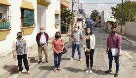 El reasfaltado de Algeciras se traslada al Embarcadero