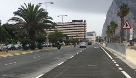 Avenida de España en La Línea