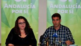 Joaquín Bellido, a la derecha,es el coordinador nacional de AxSi