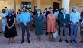Minuto de silencio en La Línea para condenar el último crimen machista cometido en la localidad
