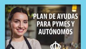 Cartel corporativo de la campaña de ayudas. Foto: lalínea.es
