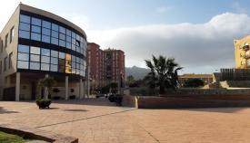 Imagen exterior del Ayuntamiento de La Línea