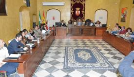 Pleno municipal en San Roque