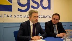 Azopardi y Clinton, del partido GSD