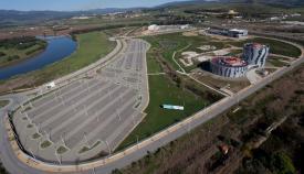 Imagen aérea de parte de la ZAL