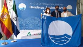 Algeciras recibe la Bandera Azul de los Mares Limpios de Europa